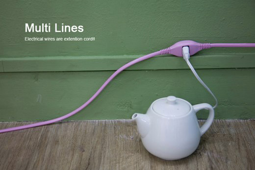 multi line extension cords