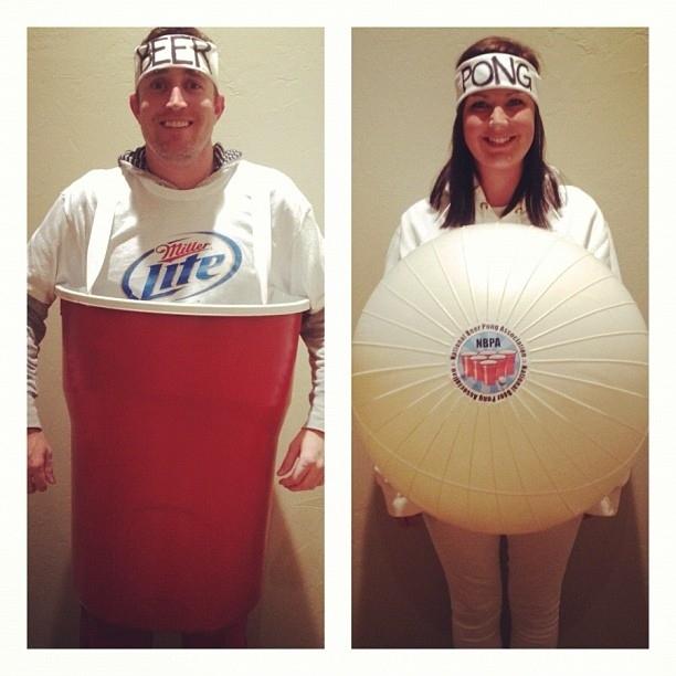 Beer Pong Halloween Costumes 2013