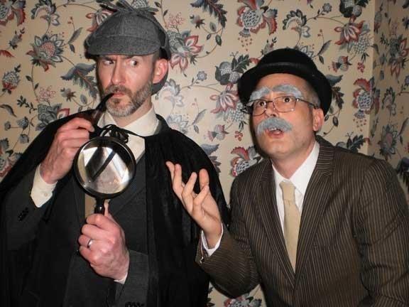 Sherlock Holmes and Watson Halloween Costumes