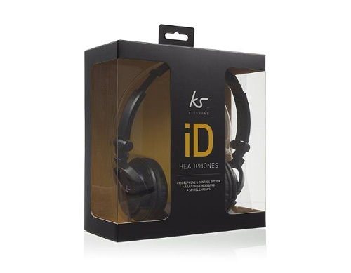 KitSound iD Audio Headphones